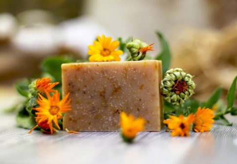Körömvirág szappan