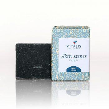 aktív szenes szappan
